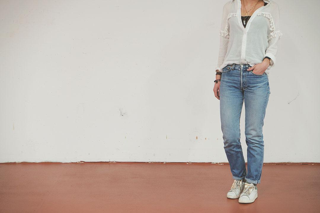 3_look_blog_mode_chemise_jubylee_jean_levis_501_vintage_stan_smith_franges_aurelie_chadaine_juste_juliette