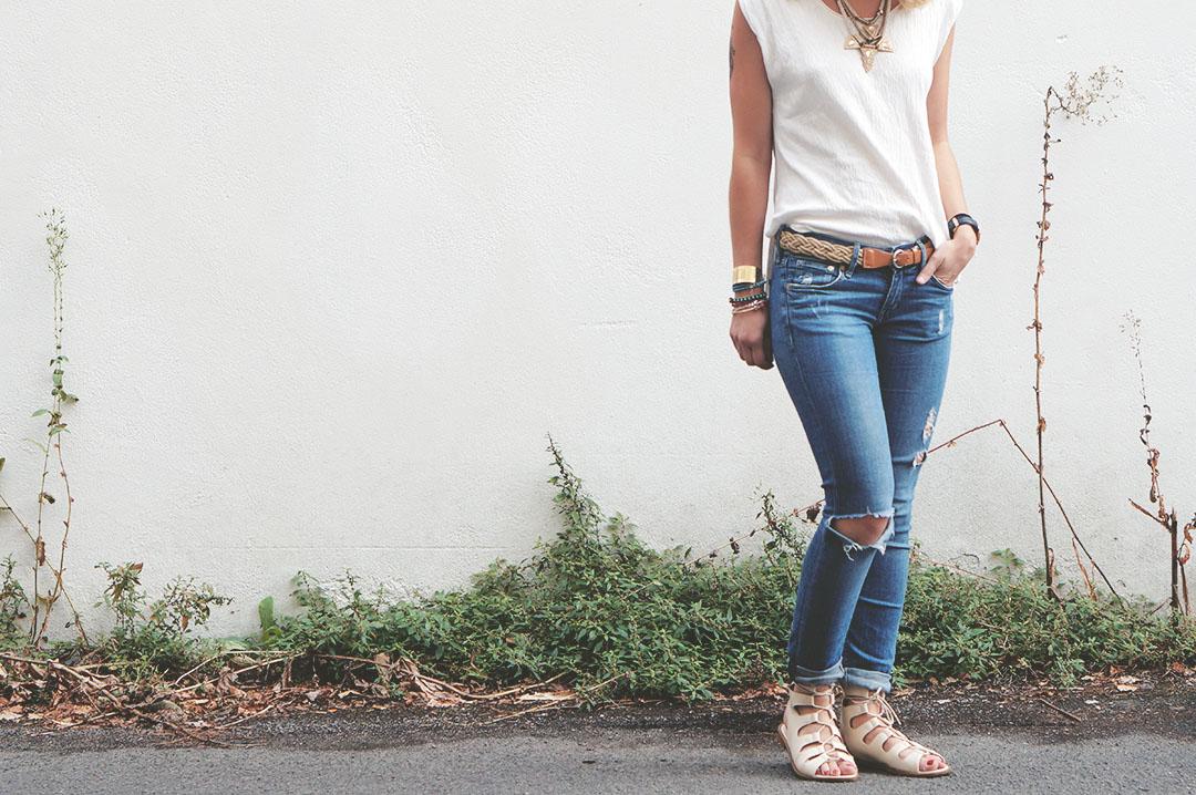 3_look_blog_mode_jean_hm_sandales_lacees_nude_boohoo