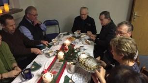 Ein Christstollen darf bei unseren Adventsfeiern nicht fehlen