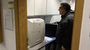 """Dieses mal kam zum Ersten mal unser """"neuer"""" Laserdrucker zum Einsatz."""