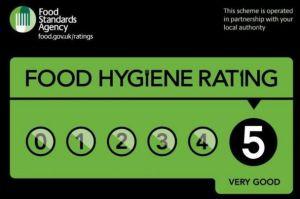 Food Hygiene rated 5