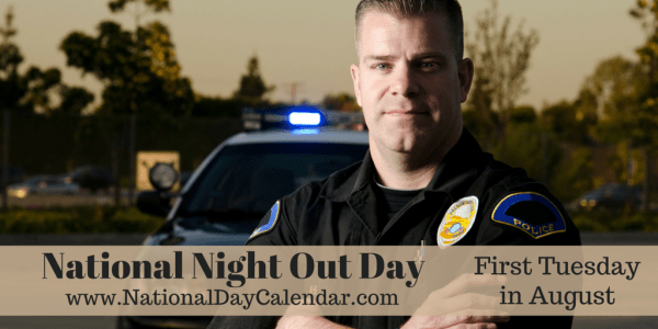 National Night Out Day - August 4th 2015