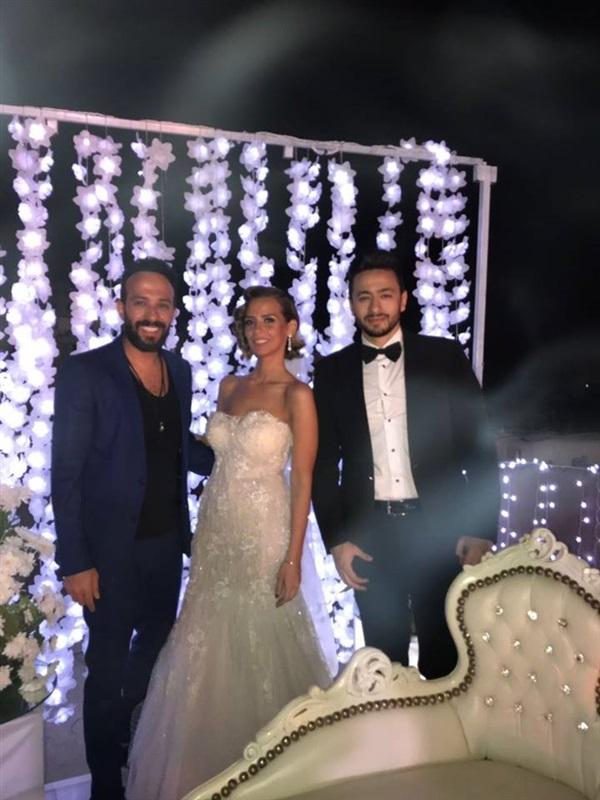 حمادة هلال يتزوج إيمان العاصي