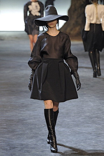 Fashion Runway Model for Lanvin Fall 2011