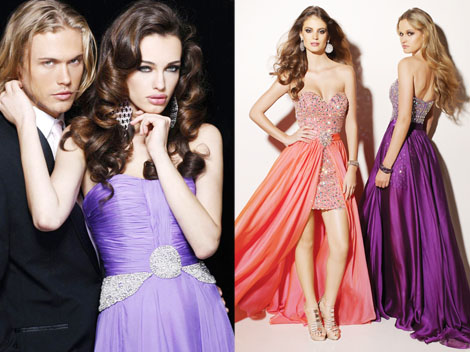 chiffon dresses trend