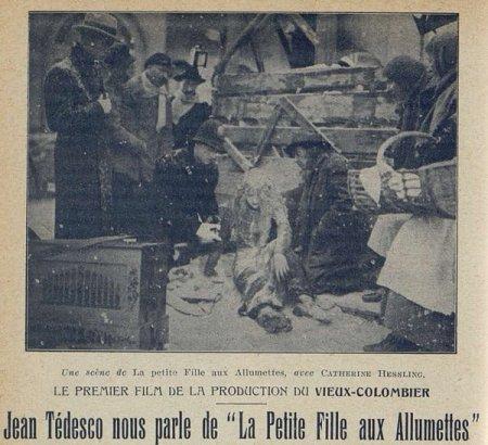 La Petite fille aux allumettes de Jean Renoir