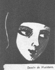 Musidora par Musidora (Cinémagazine 1942)
