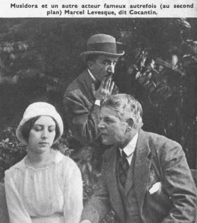 Musidora et Marcel Levesque (Ciné-Mondial 1942)