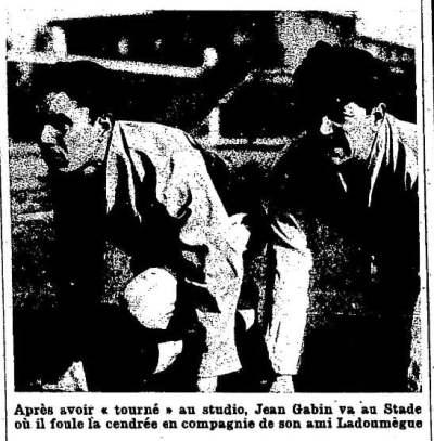 Match L'Intran du 15 novembre 1932