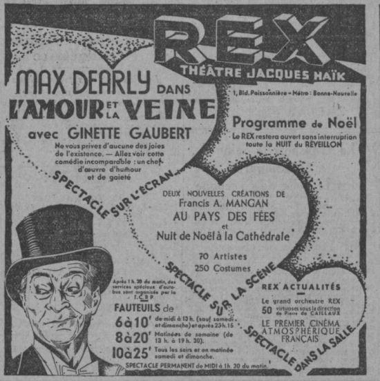 Paris-Soir du 22 décembre 1932