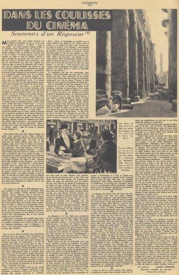 Pour Vous du 7 novembre 1935