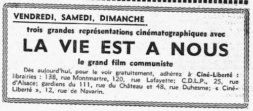 L'Humanité du 14 mai 1936