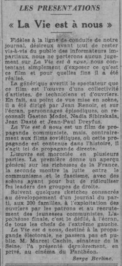 Paris-Soir du 14 avril 1936
