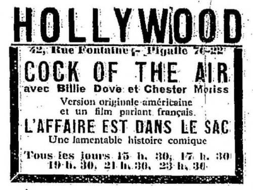 La Semaine à Paris du 2 décembre 1932