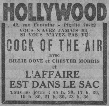 Paris-Soir du 3 décembre 1932