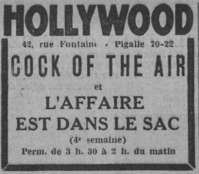 Paris-Soir du 13 décembre 1932