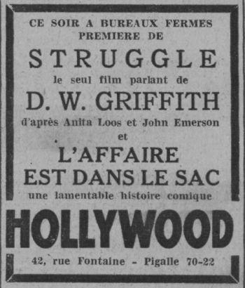 Paris-Soir du 24 novembre 1932
