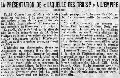 Le Matin du 28 septembre 1928