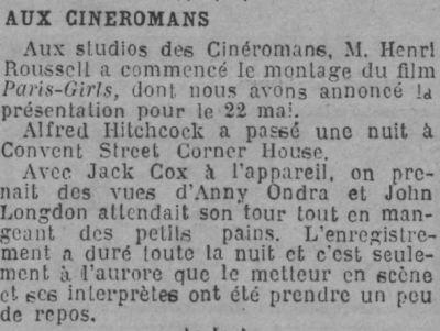 paris-soir-06.04.29-blackmail-tournage