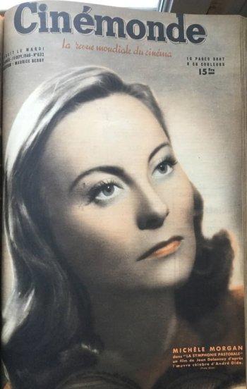 Cinémonde 10 septembre 1946