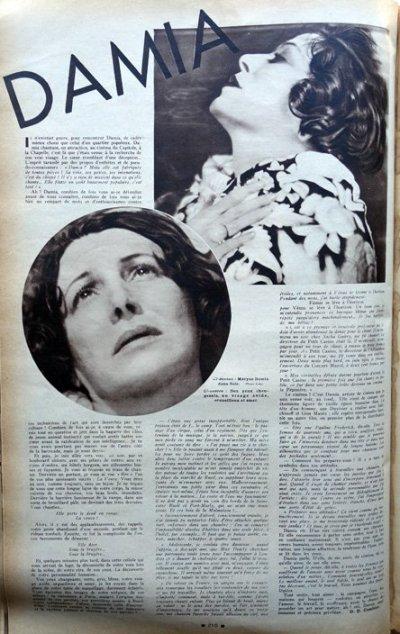 Cinémonde du 16 Mars 1933