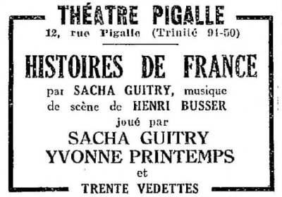 La Semaine à Paris du 22 novembre 1929