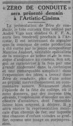 Comoedia du 6 avril 1933