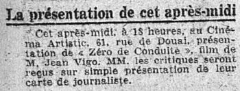 L'Intransigeant du 08 avril 1933