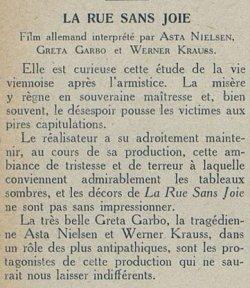 Cinémagazine du 22 janvier 1926