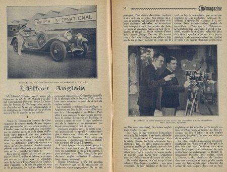 Cinémagazine du 13 juillet 1928