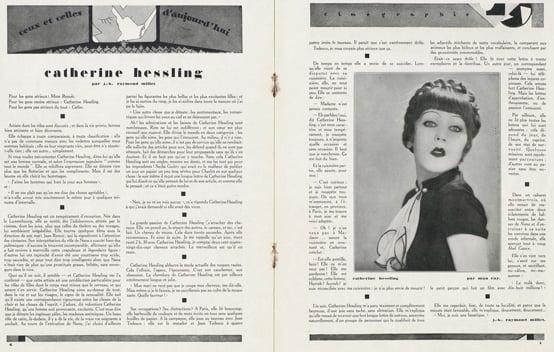 paru dans Cinégraphie de septembre 1927
