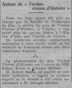 paru dans Comoedia du 18 novembre 1928