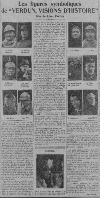 paru dans Comoedia du 27 juillet 1928