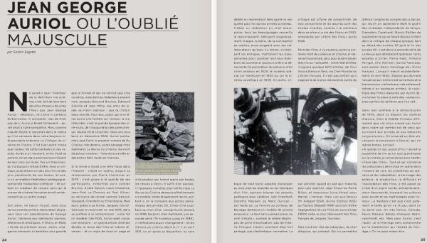paru dansLa Lettre du syndicat de la critique de cinéma (n°39) en novembre 2011.