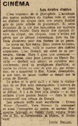 paru dans Paris-Midi du 28 septembre 1921
