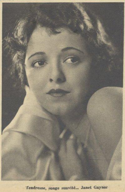 paru dans Pour Vous du 7 Mars 1929