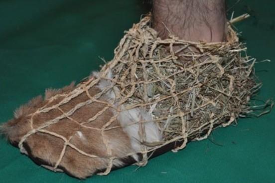 chaussures en macramé - Alpes Oztal