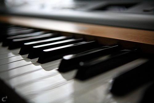 Le Piano – un coup de foudre en noir et blanc