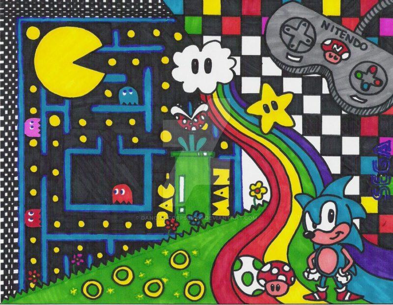 Les jeux vidéos – Play with me !