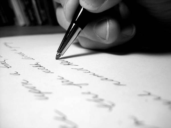 """L'écriture – """"Les mots sont des fenêtres""""*"""