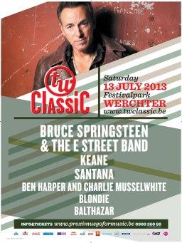 Festival TW Classic 2013 à Werchter avec Bruce_Springsteen