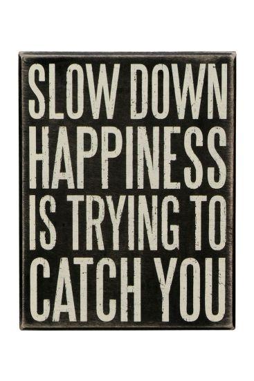 trouver sa voie ralentir