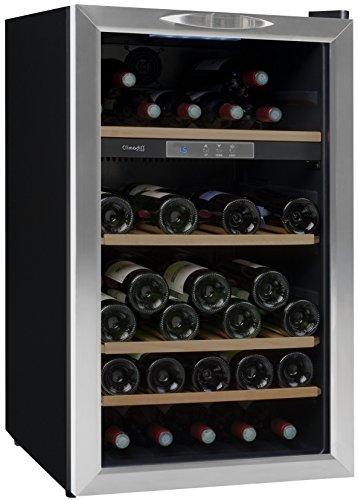 Cave à vin de service – 1 temp. – 52 bouteilles – Noir – CLIMADIFF – ACI-CLI564 – Pose libre