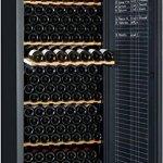 Cave à vin de vieillissement – 1 temp. – 294 bouteilles – Noir – AVINTAGE – ACI-AVI461 – Pose libre