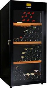 Cave à vin de vieillissement – 1 temp. – 178 bouteilles – Noir – AVINTAGE – ACI-AVI431 – Pose libre
