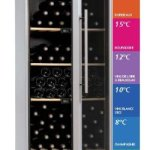 Cave à vin Multi-zones 150 blles – VIP150