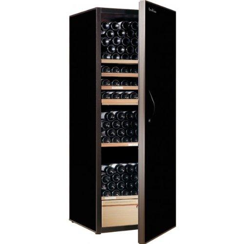 Artevino AE248G2T6N Cave à vin de service 248 bouteilles Noir