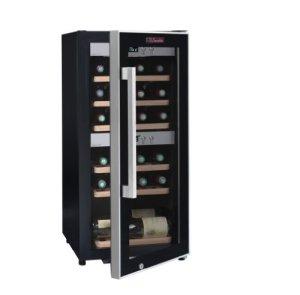 La Sommelière ECS25.2Z Cave à vin de mise à température par FRIO, 24 bouteilles – Deux zones de températures,Faible encombrement