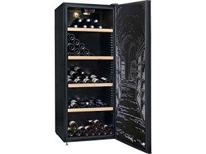 Climadiff CLPP190 Cave à Vin 187 bouteilles Classe: A Noir