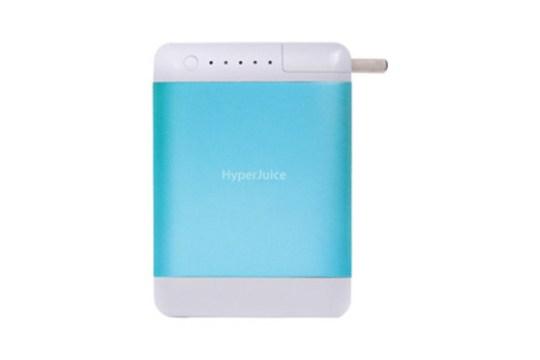 Batterie HyperJuice Plug 10400 mAh Bleu